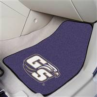 "Georgia Southern Eagles 2-piece Carpeted Car Mats 18""x27"""