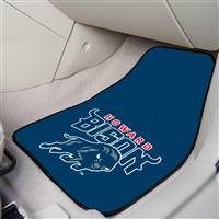 "Howard University 2-pc Carpet Car Mat Set 17""x27"""