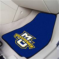 "Marquette Golden Eagles 2-piece Carpeted Car Mats 18""x27"""