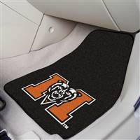 "Mercer University 2-pc Carpet Car Mat Set 17""x27"""