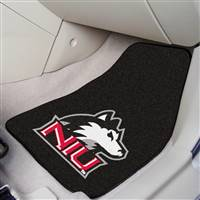 "Northern Illinois (NIU) Huskies 2-piece Carpeted Car Mats 18""x27"""