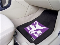 "NYU New York University 2-piece Carpeted Car Mats 18""x27"""