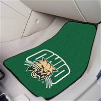 "Ohio Bobcats 2-piece Carpeted Car Mats 18""x27"""