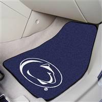"Penn State Nittany Lions 2-piece Carpeted Car Mats 18""x27"""