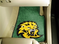 "Southeastern Louisiana 2-piece Carpeted Car Mats 18""x27"""