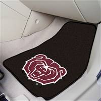 "Missouri State University 2-pc Carpet Car Mat Set 17""x27"""