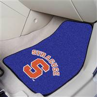 "Syracuse University 2-pc Carpet Car Mat Set 17""x27"""