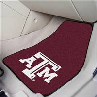 "Texas A&M Aggies 2-piece Carpeted Car Mats 18""x27"""