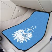 "The Citadel Bulldogs 2-piece Carpeted Car Mats 18""x27"""