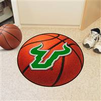 "South Florida Bulls Basketball Rug 29"" Diameter"