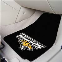 "Towson University 2-pc Carpet Car Mat Set 17""x27"""