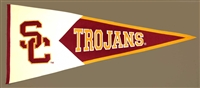 Southern California USC (Interlock) Trojans Large Classic Wool Pennant