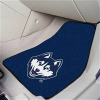 Connecticut Huskies UCONN 2-pc Printed Carpet Car Mat Set