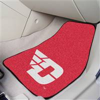 "Dayton Flyers 2-piece Carpeted Car Mats 18""x27"""