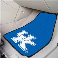 "Kentucky Wildcats 2-piece Carpeted Car Mats18""x27"""
