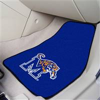 "Memphis Tigers 2-piece Carpeted Car Mats 18""x27"""