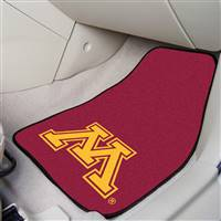 "Minnesota Golden Gophers 2-piece Carpeted Car Mats 18""x27"""