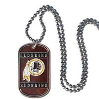 Washington Redskins Necklace Tag Style