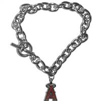 Los Angeles Angels Bracelet Chain Link Style
