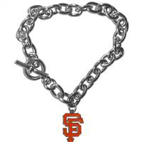 San Francisco Giants Bracelet Chain Link Style