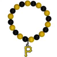 Pittsburgh Pirates Bracelet Bead Style