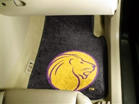 "North Alabama 2-piece Carpeted Car Mats18""x27"""