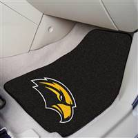 "Southern Mississippi USM Golden Eagles 2-piece Carpeted Car Mats 18""x27"""
