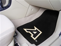 "US Military Academy 2-piece Carpeted Car Mats 18""x27"""