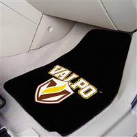 "Valparaiso Crusaders 2-piece Carpeted Car Mats 18""x27"""