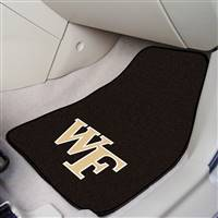 "Wake Forest Demon Deacons 2-piece Carpeted Car Mats 18""x27"""