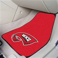 "Western Kentucky University 2-pc Carpet Car Mat Set 17""x27"""
