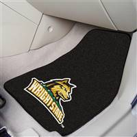 "Wright State Raiders 2-piece Carpeted Car Mats 18""x27"""