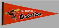 Baltimore Orioles Cooperstown Mid-Size Wool Pennant