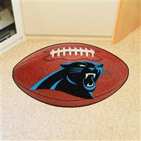 "Carolina Panthers Football Rug 22""x35"""