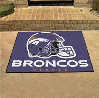 "NFL - Denver Broncos All-Star Mat 33.75""x42.5"""