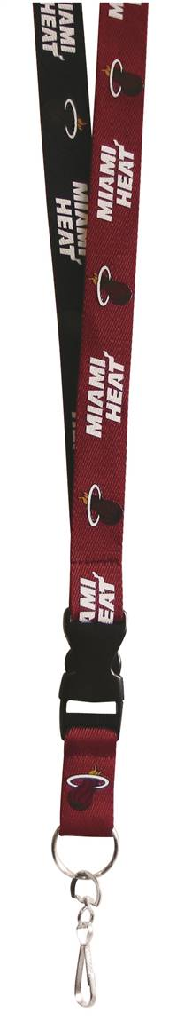 Miami Heat Lanyard - Two-Tone - Special Order