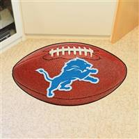 "NFL - Detroit Lions Football Mat 20.5""x32.5"""