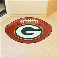 "Green Bay Packers Football Rug 22""x35"""
