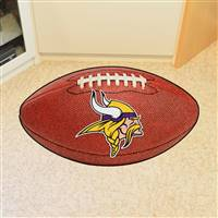 "Minnesota Vikings Football Rug 22""x35"""