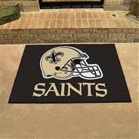 "New Orleans Saints Allstar Rug 34""x45"""