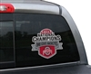 Fremont Die Ohio State Buckeyes Window Film - National Champ