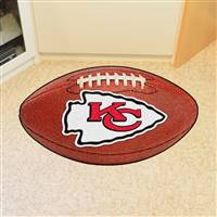 "Kansas City Chiefs Football Rug 22""x35"""
