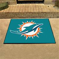 "NFL - Miami Dolphins All-Star Mat 33.75""x42.5"""