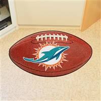 "NFL - Miami Dolphins Football Mat 20.5""x32.5"""