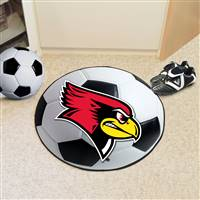"Illinois State University Soccer Ball Mat 27"" diameter"