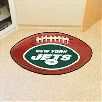"NFL - New York Jets Football Mat 20.5""x32.5"""
