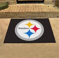 "Pittsburgh Steelers Allstar Rug 34""x45"""