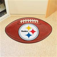 "NFL - Pittsburgh Steelers Football Mat 20.5""x32.5"""