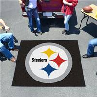"Pittsburgh Steelers Tailgating Mat 60""x72"""