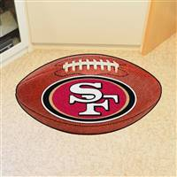 "San Francisco 49ers Football Rug 22""x35"""